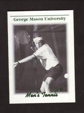 George Mason Patriots--1998 Tennis Pocket Schedule--Giant