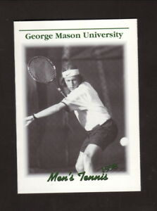 George Mason Patriots--1998 Tennis Pocket Schedule--Giant