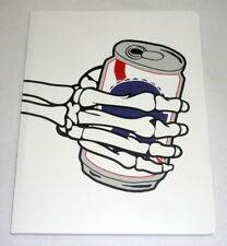 Pabst Blue Ribbon Beer PBR Limited Edition Drawing Sketch Book Notebook Skull