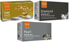 VLCC Gold + Diamond + Pearl Facial Kits (Set of 3)