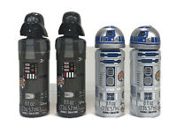 Lot Of 4 Disney Star Wars Bubble Solution Darth Vader & R2D2 Miracle Bubbles 8oz