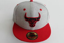 Chicago Bulls NBA Basketball Cap Kappe Neu New Era 59fifty Size 7 3/8  NBA Logo