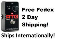 New Electro-Harmonix EHX RTG Random Tone Generator Guitar Effects Pedal Reissue