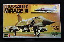 XP110 REVELL 1/72 maquette avion 4438 Dassault Mirage III 1976 French Long-Range