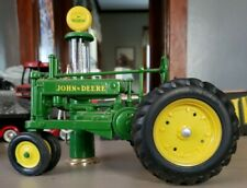 ertl john deere model A tractor 1/16th scale with j.d. 1/16th gas pump
