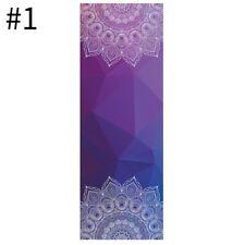 Yoga Towel Soft Compact Yoga Mat Portable Antiskid Fitness Workout Blanket New
