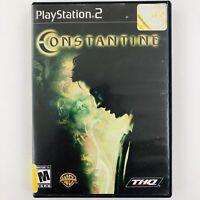 Constantine (Sony Playstation 2 PS2, NTSC, 2005)