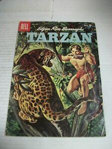Dell Edgar Rice Burroughs' TARZAN #114 September/October 1959