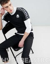 Kappa T-Shirt Authentic Raul Cotton Jersey Banda Taping Mens Size XL Slim Fit