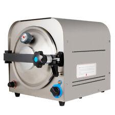 New Listing14l Dental Autoclave Steam Sterilizer Medical Sterilization Lab Equipment Usa