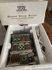 Dept 56 Dickens Village The Flat Of Ebenezer Scrooge In Box