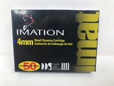 NEW SEALED 4mm Imation Head Cleaning Tape Cartridge. DDS Drive