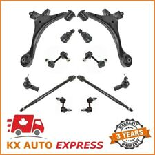12 Pieces Front & Rear Suspension & Steering Kit for Honda Civic 2001-2005