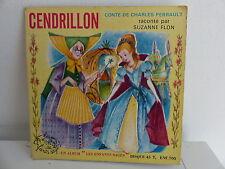 Livre disque Cendrillon SUZANNE FLON ENF705