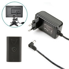 AC Power Adapter for CN-160 CN-126 Video LED light SONY NP-F550 NP-F970 F330 EU