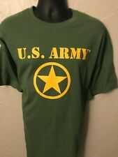 T-shirt U. S. ARMY  Green Gildan