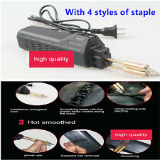 Hot Stapler Car Truck Bumper Weld Gun Plastic Repair Tool Kit Staple Plier 220V