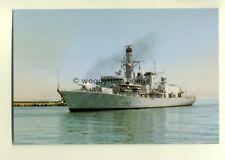 na0301  - Royal Navy Warship - HMS Somerset - postcard