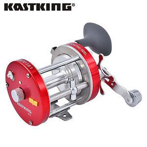 KastKing Rover90L Trolling Reel Conventional Reel Saltwater Fishing Reels - Left