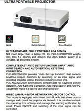 2600 LMN SANYO WIFI HDTV XGA LCD PROJECTOR HDMI BRAND NEW  LAMP  + VJ KIT