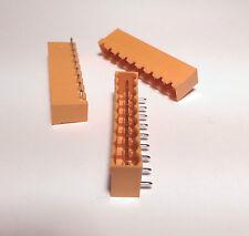 20 x Terminal Block Header 5.08mm PCB 9 Pole Horizontal IMO STLZ950/9G-5.08-H