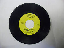 Jim & Jesse Diesel On My Tail/All For The Love Of A Girl 45 RPM Epic Records VG+