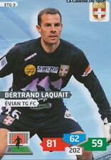 ETG-03 BERTRAND LAQUAIT # EVIAN THONON CARD ADRENALYN FOOT 2014 PANINI