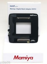 Mamiya RZ PRO IID, DIGITAL BACK ADAPTER HX701 (DM/LEAF/ZD/M backs to RZ IID BODY