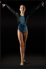Leo Leos Dancewear Aztec print Leotard Retail $65 Nwt