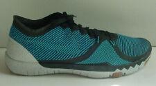 Nike MEN'S Shoe Blue Black Free Trainer 3.0 V4 Running 749361-044 Sz 10 NoLid