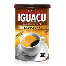 Brazilian Instant Coffee IGUACU Dried Coffee Powder 100g in Can-tin