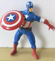 "Marvel Shield Throwing CAPTAIN AMERICA Hasbro 2013 Figure 6"" Avengers End Game"