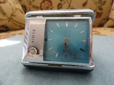 Vintage Bulova Wind Up Alarm Clock with a Light