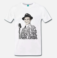 T-SHIRT MAGLIA FRANK SINATRA THE VOICE NEW YORK NEW YORK MY WAY - 3 S-M-L-XL