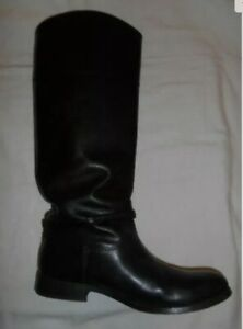 womens leather boots size 40