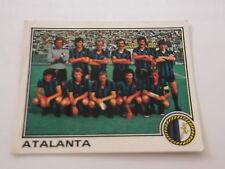 FIGURINA PANINI CALCIATORI 1979-80 N° 324 SQUADRA ATALANTA NUOVA CON VELINA