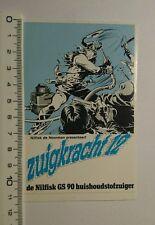 Aufkleber/Sticker: zuigkracht 12 nilfisk de Noorman (09071622)