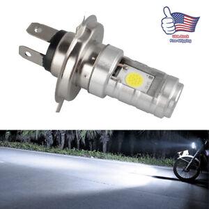For Motorcycle H4 6500K LED Front Light Bulb Super Bright Hi/Lo Beam Headligh