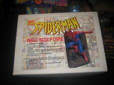 BOWEN & CREATIVE LICENSE SPIDER-MAN WALL STATUE SCULPTURE NEW!