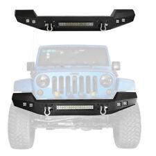 Auto CLIMBER Front Bumper for 2007-2018 Jeep Wrangler & Wrangler Unlimited JK