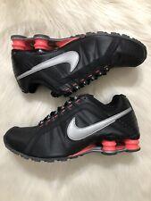 Nike Shox Junior Women's Size 8.5 Black Hot Pink Running Sneakers