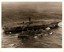 USS America CV-66 Carrier Vintage Photo