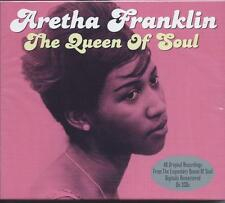 Aretha Franklin - The Queen Of Soul - 40 Original Recordings (2CD) NEW/SEALED