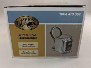 Hampton Bay 16VAC/30VA Transformer Compatible with Smart Video Door Bells