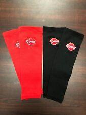 Krystal Restaurant Logo Compression Sleeves, Red & Black, Krystal Hamburgers