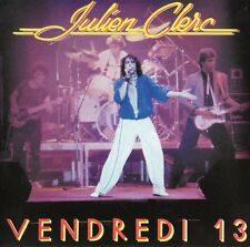 "JULIEN CLERC ""VENDREDI 13"" ULTRA RARE FRENCH DOUBLE CD IN CONCERT"