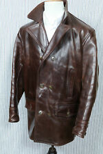 AERO LEATHER CLOTHING CORDOVAN PFERDE HORSE LEDER JACKE, Gr. M (US 38)