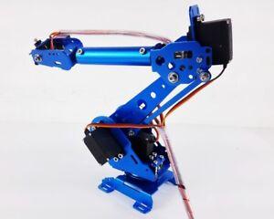 6 Axis Robot Arm ABB Industrial Mechanical Free Manipulator + Servos Unassembled