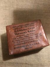 WWI US Marine Corps Navy department Haversack Grocery ration 1917