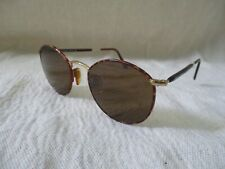 Giorgio Armani 627 gold tortoise round sunglasses eyeglasses frames 44 20 140